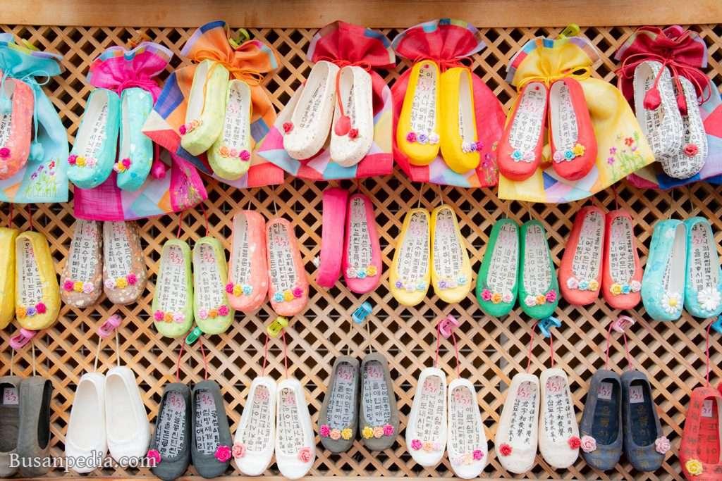 Korean traditional shoe (kkotshin) souvenir