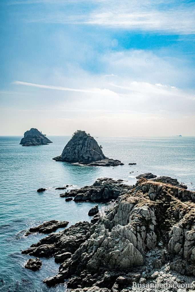 Oryukdo Island in Busan, South Korea