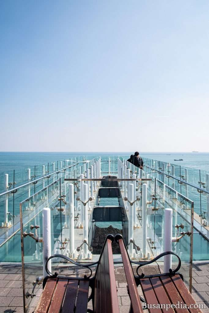 Oryukdo Skywalk in Busan, South Korea