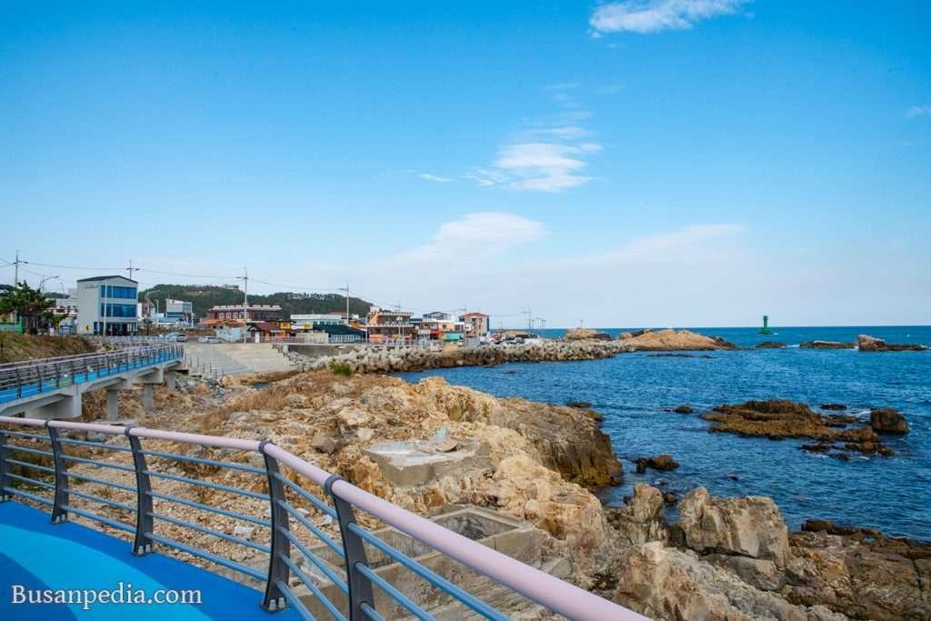 colorful fishing village, Gijang in Busan