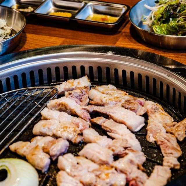 Korean BBQ, Samgyeopsal, Pork Belly