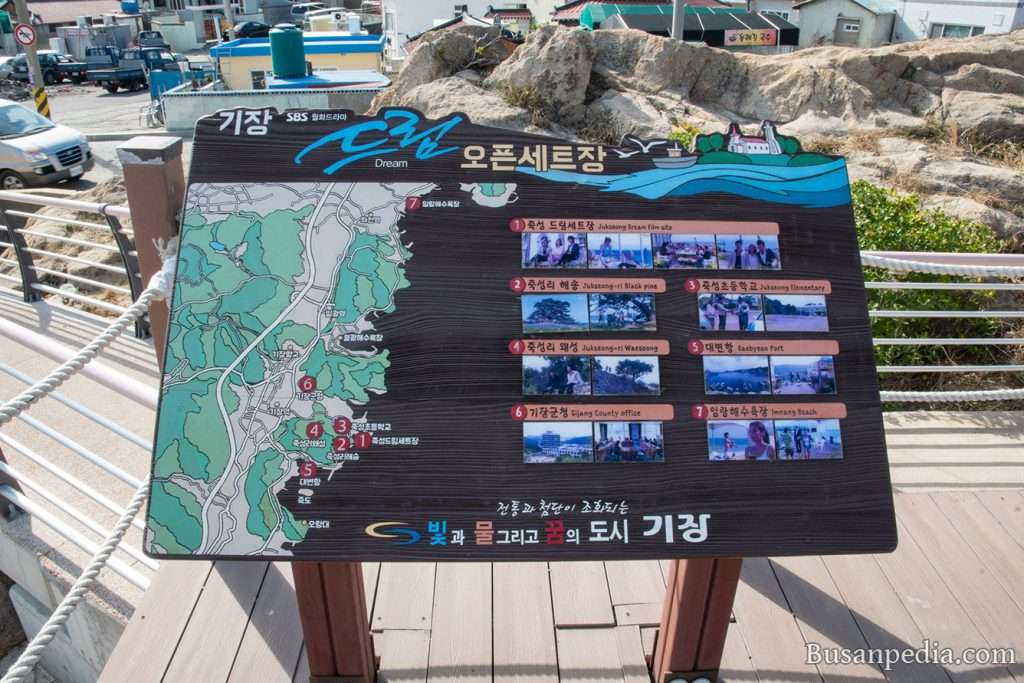 Sign for Korean Drama, Dream, Open Set in Busan