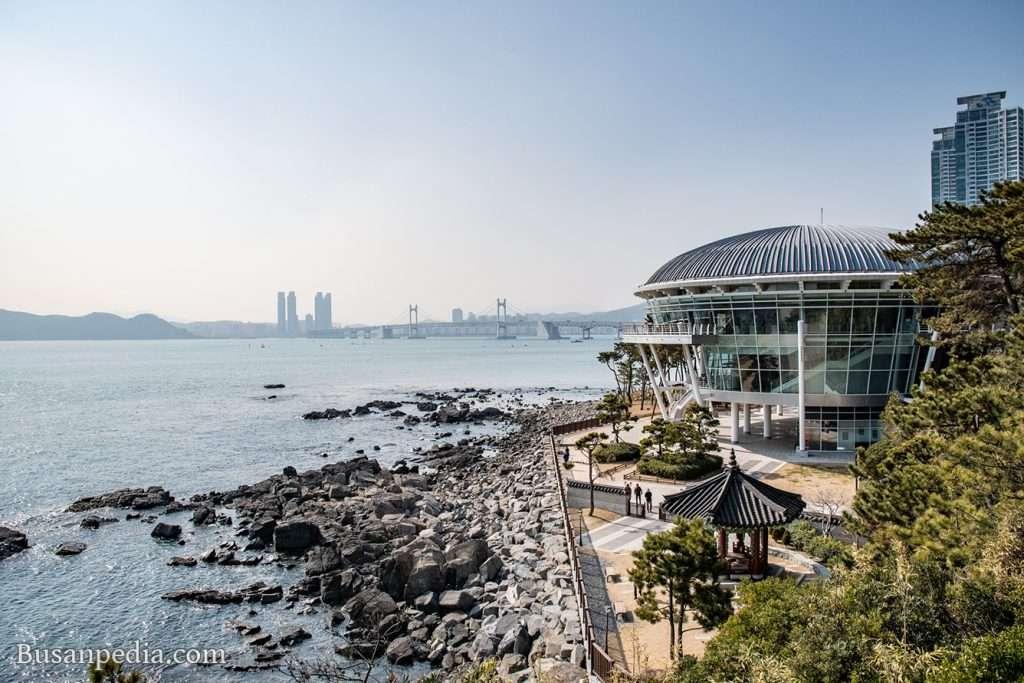 Nurimaru APEC House in Dongbaek Island, Haeundae, Busan