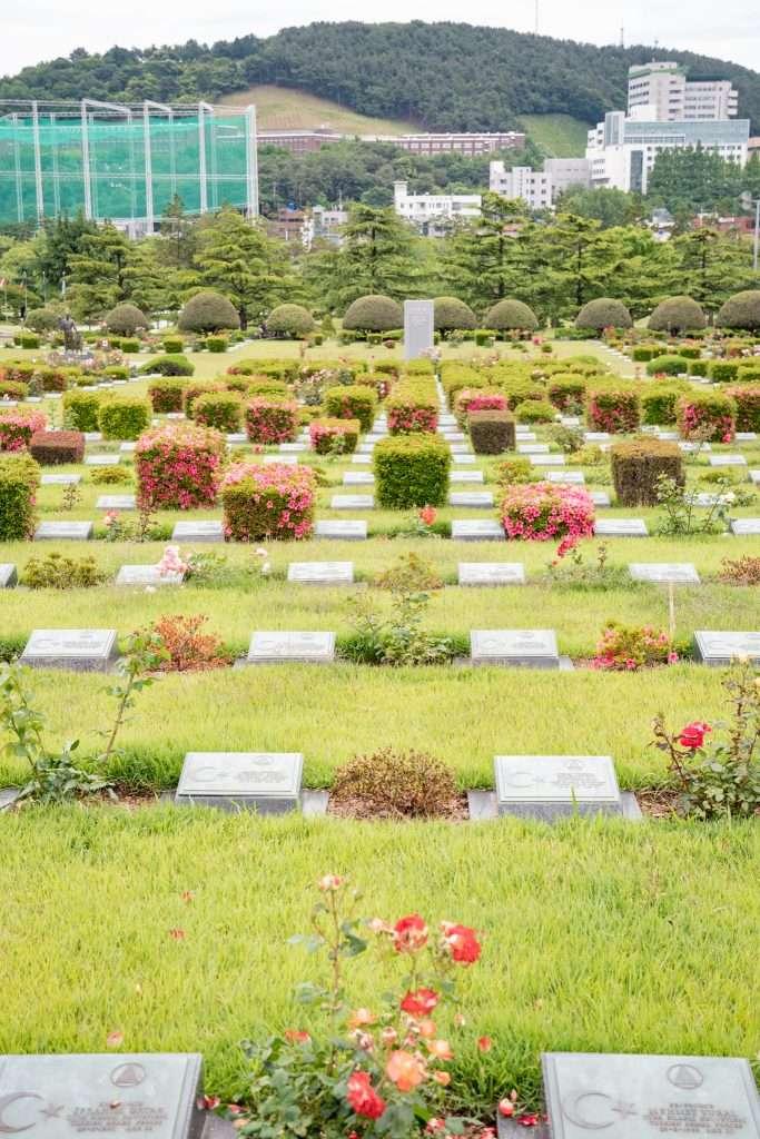 United Nations Memorial Cemetery in Busan