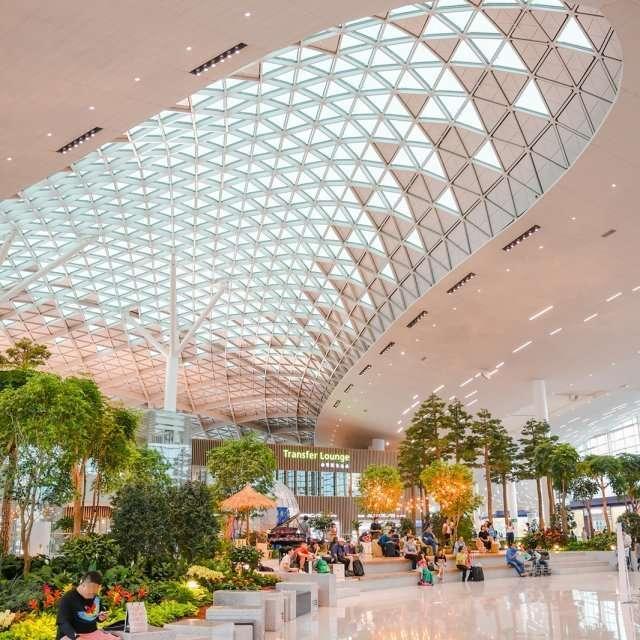 Incheon Airport Terminal 2 in South Korea